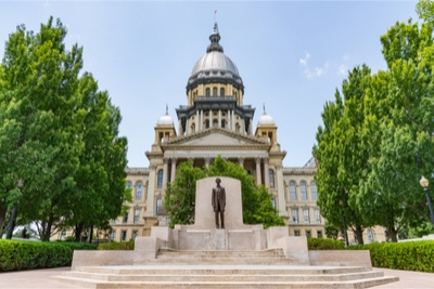 Illinois Capitol Building Image